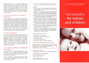 Homeopathy for Babies and Children 2